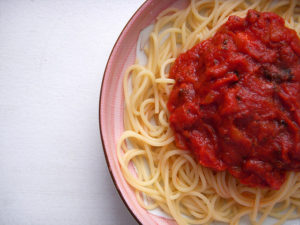 Spaghetti and other serious subjects | Shayla Rivera | Blog